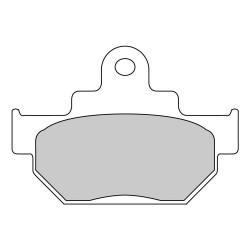Pastiglie freno (FDB673P) - Ferodo