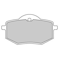 Pastiglie freno (FDB591P) - Ferodo