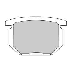 Pastiglie freno (FDB217P) - Ferodo