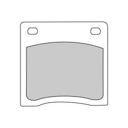 Pastiglie freno (FDB151P) - Ferodo