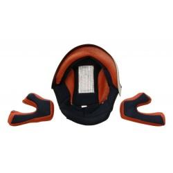 Orange interior for cross helmet s880