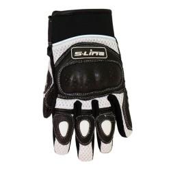 Motorcycle GlovesRoute Cuir Lycra (GAN610) - S-line