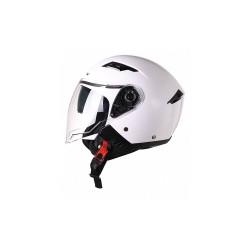 Demi-jet helmetS760 white double visor (DJD1G200) - Osone